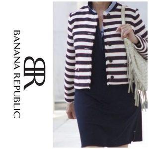 Striped Tweed blazer